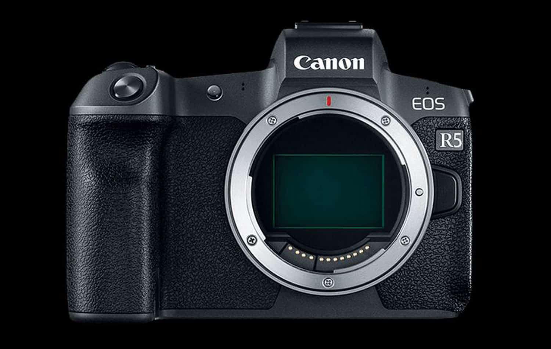 Canon EOS R5 leak