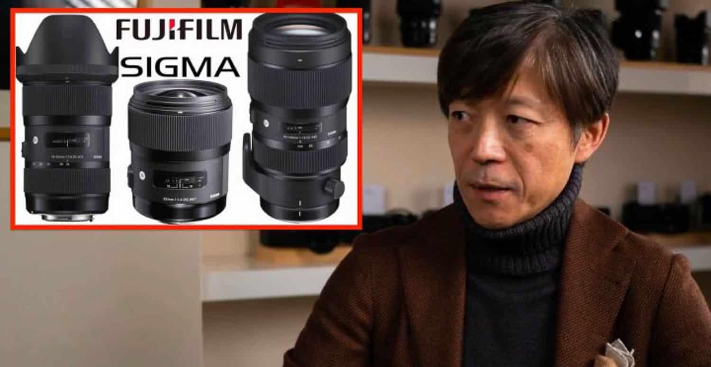 Sigma obiettivi Fujifilm X