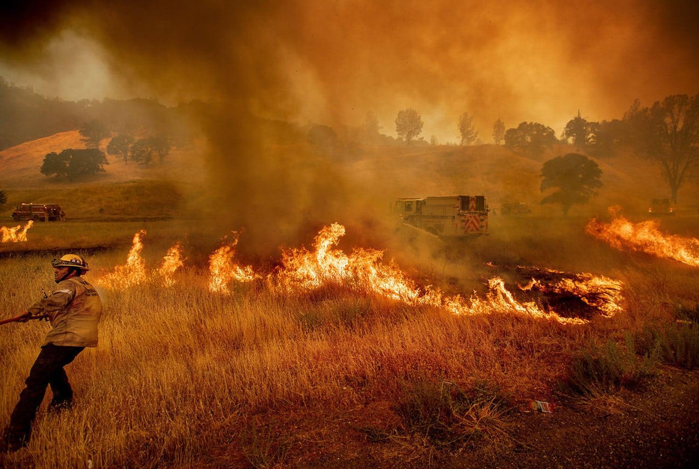 Fotografie più grandi incendi