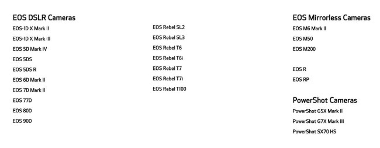 Canon EOS Webcam Utility Beta