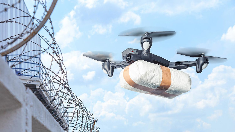 Coronavirus droni consegna medicinali