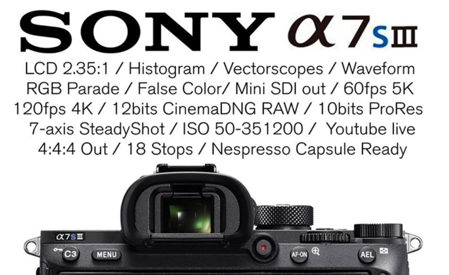 Sony A7SIII Rumors