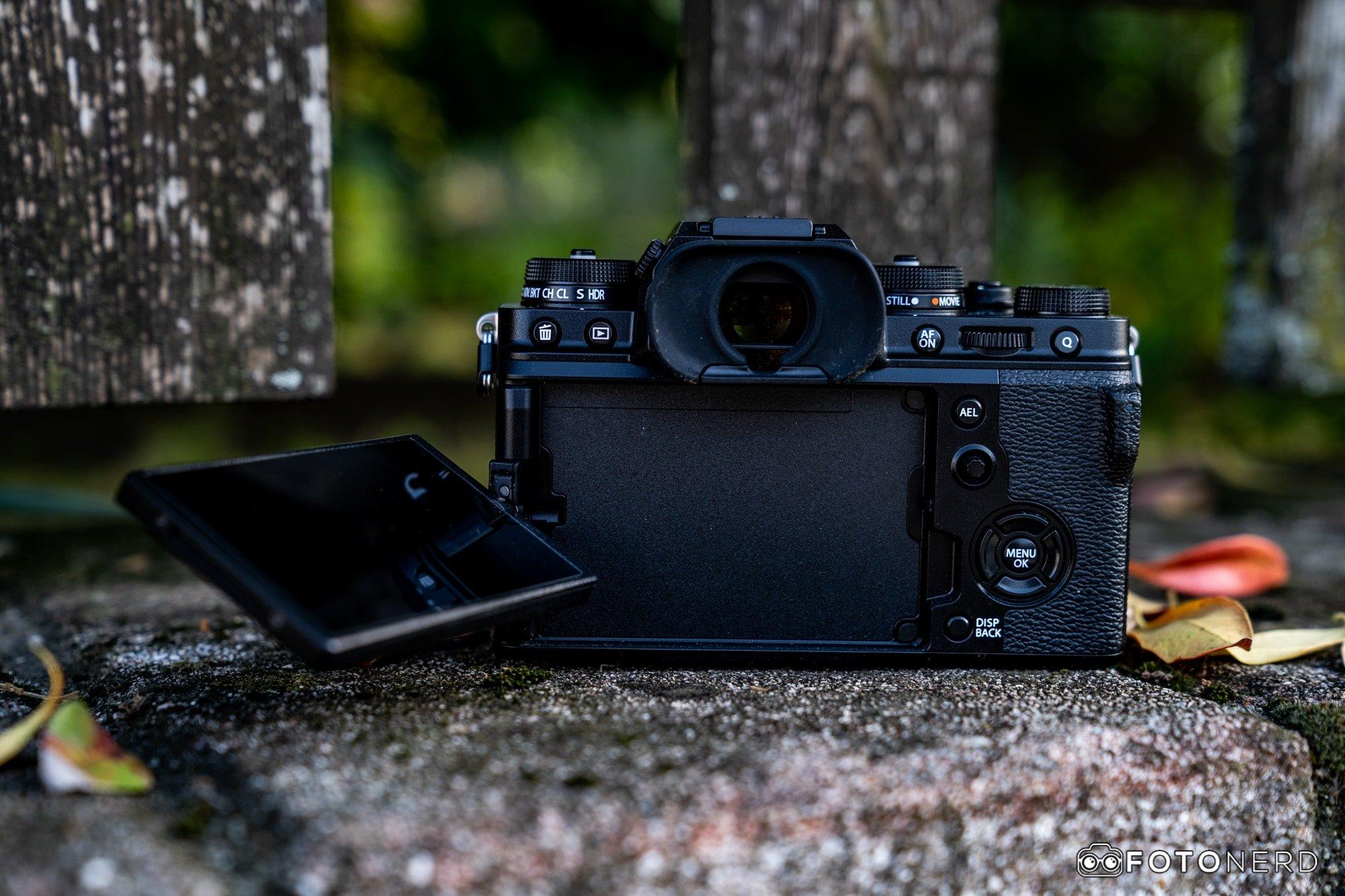 Fotocamere con display orientabile