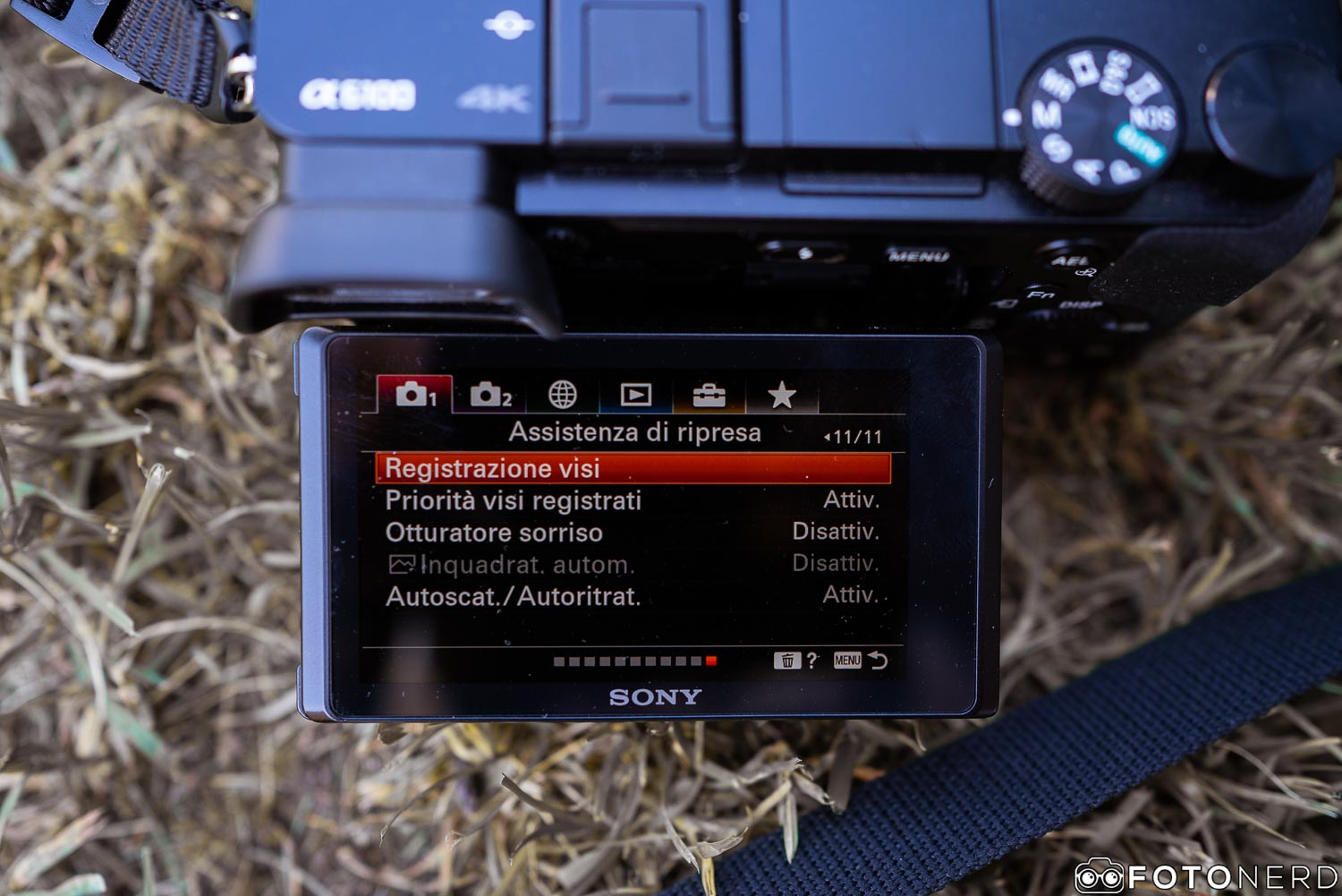 Sony a6100 recensione
