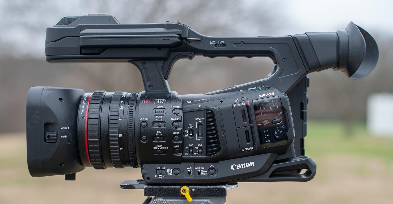 Canon XF705 aggiornamento