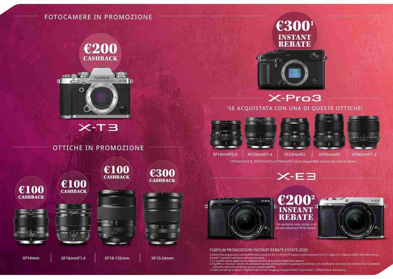 Fujifilm promozione Estate 2020