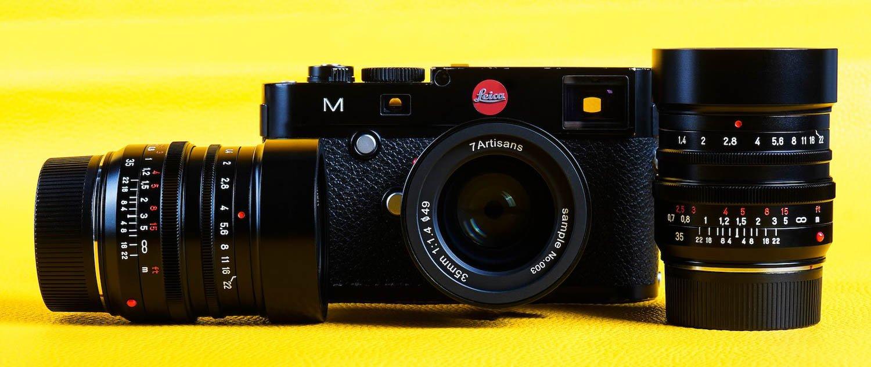 7artisans 35mm f/1.4 Leica