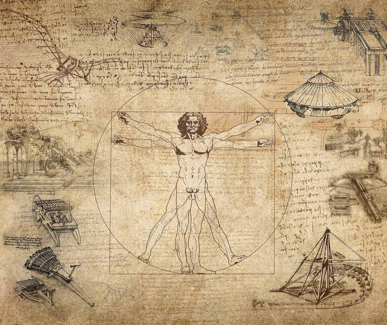 Hasselblad immagini Uomo vitruviano