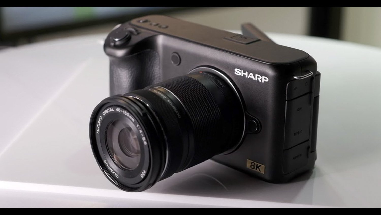 Sharp 8K rumors