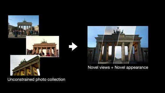 Render 3D foto turisti