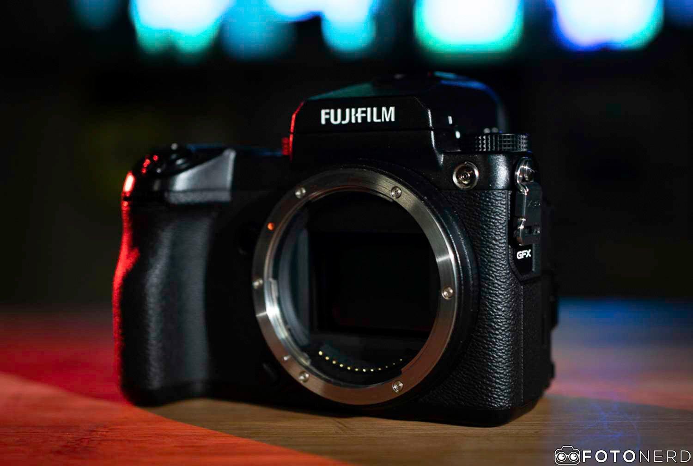 Fujifilm GFX firmware agosto
