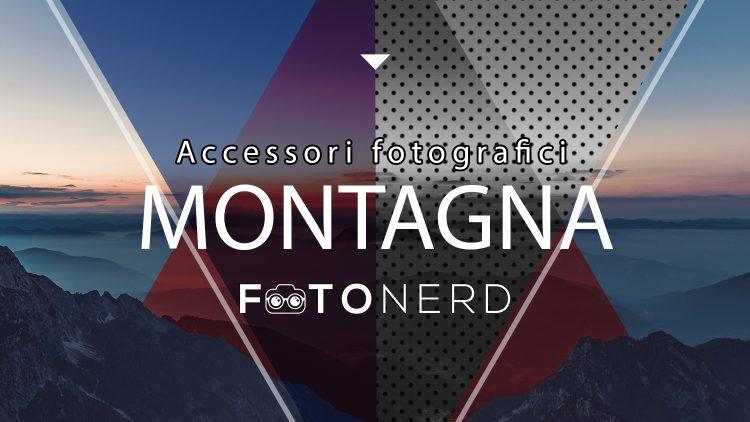 Migliori accessori fotografici montagna
