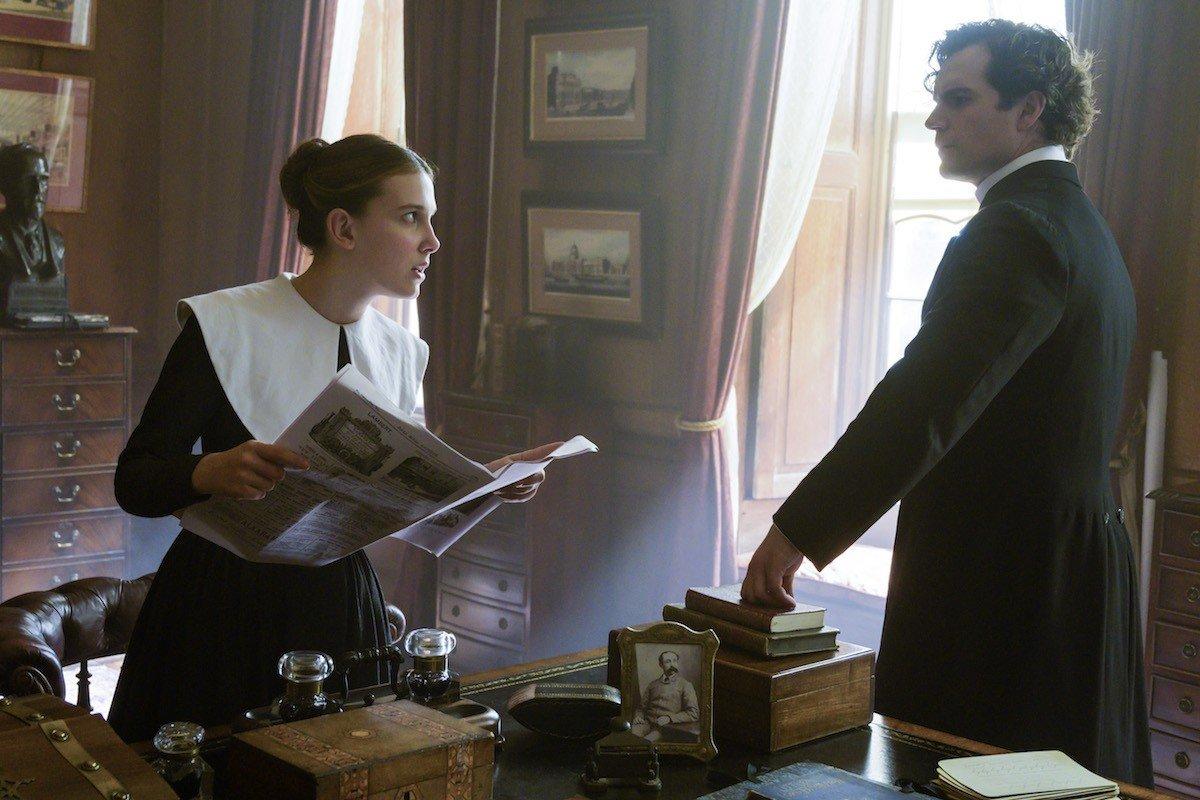 Enola e Sherlock Holmes
