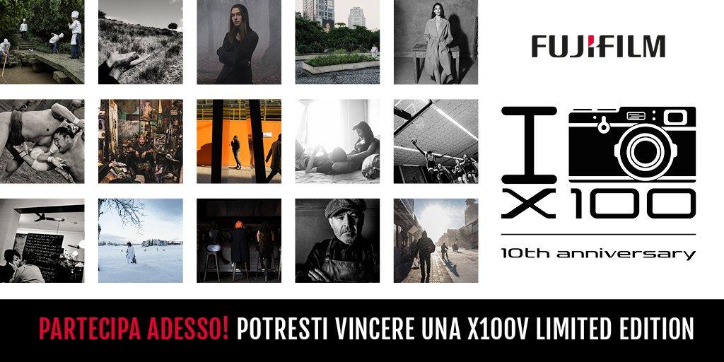 Fujifilm X100 concorso dieci anni