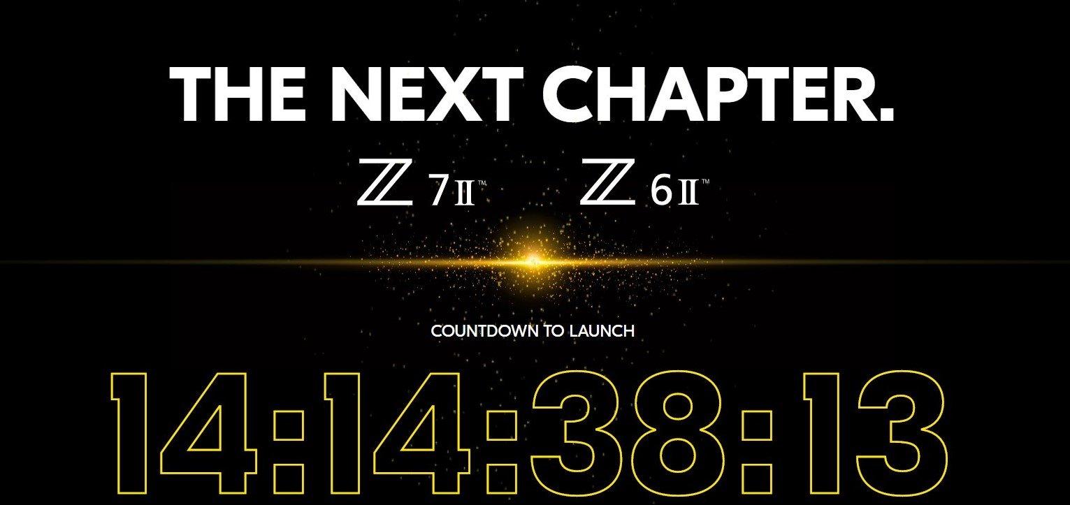 Nikon Z6II Z7II annuncio
