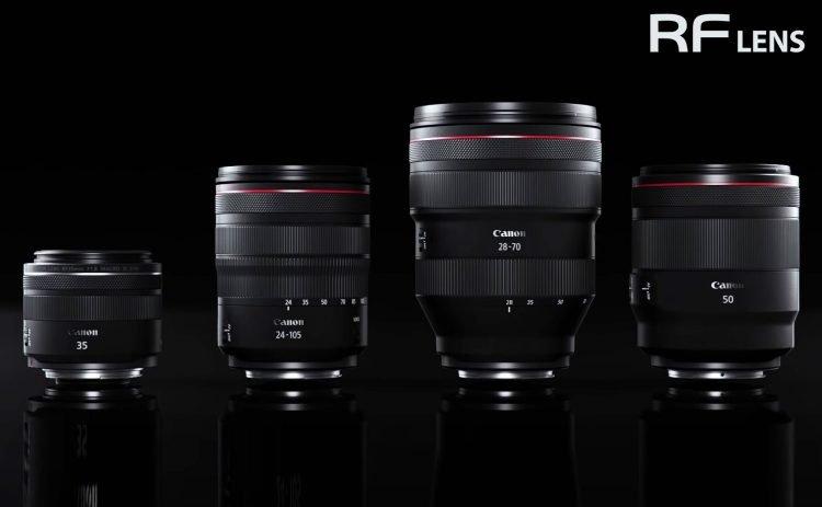 Canon obiettivi RF 2021 leak