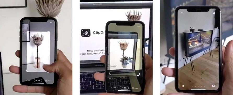 ClipDrop beta Realtà Aumentata