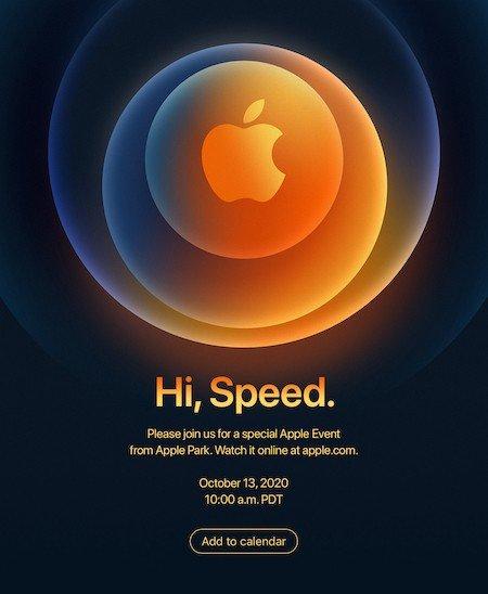 iPhone 12 annuncio ottobre