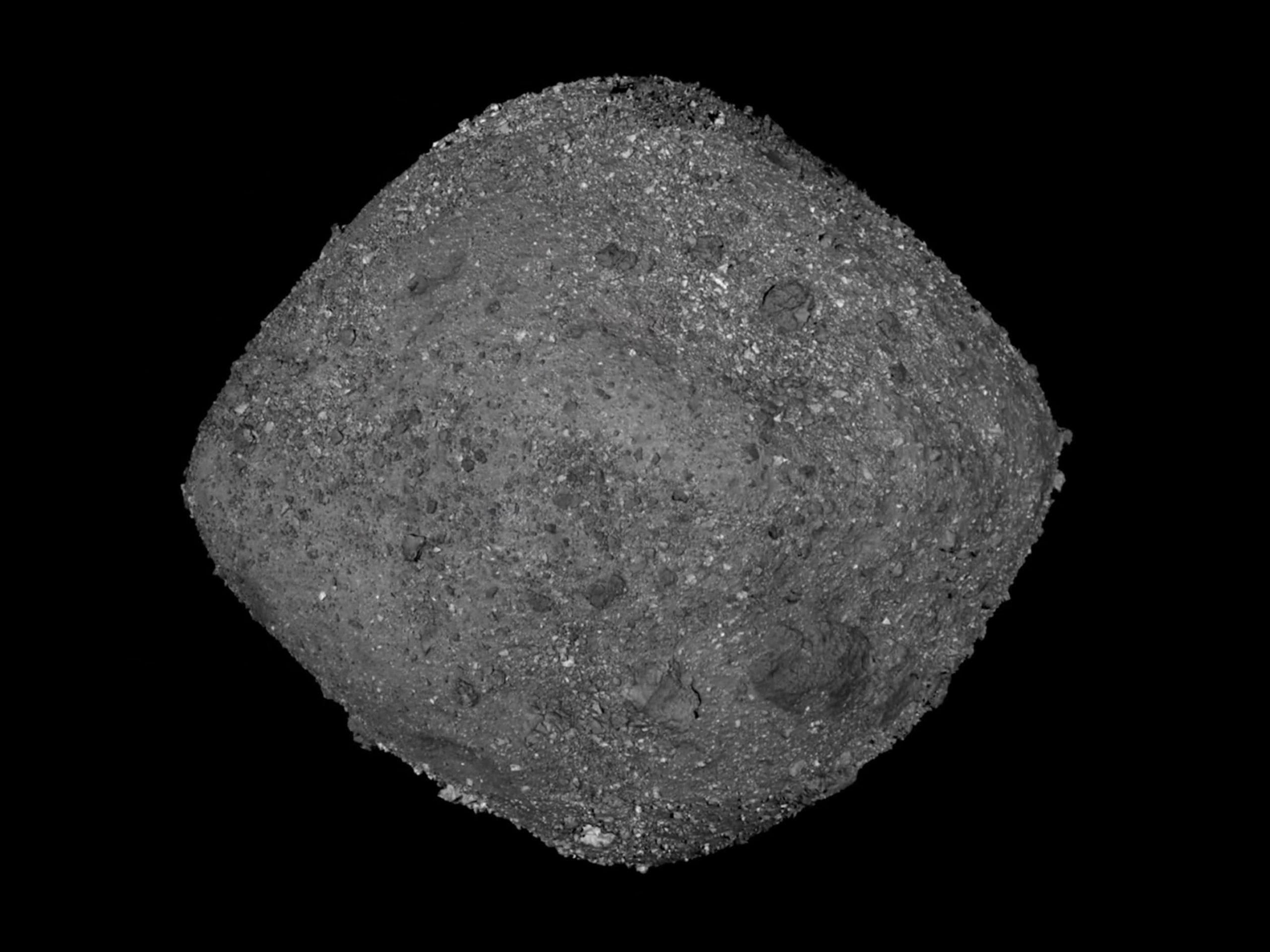 NASA sonda foto asteroide
