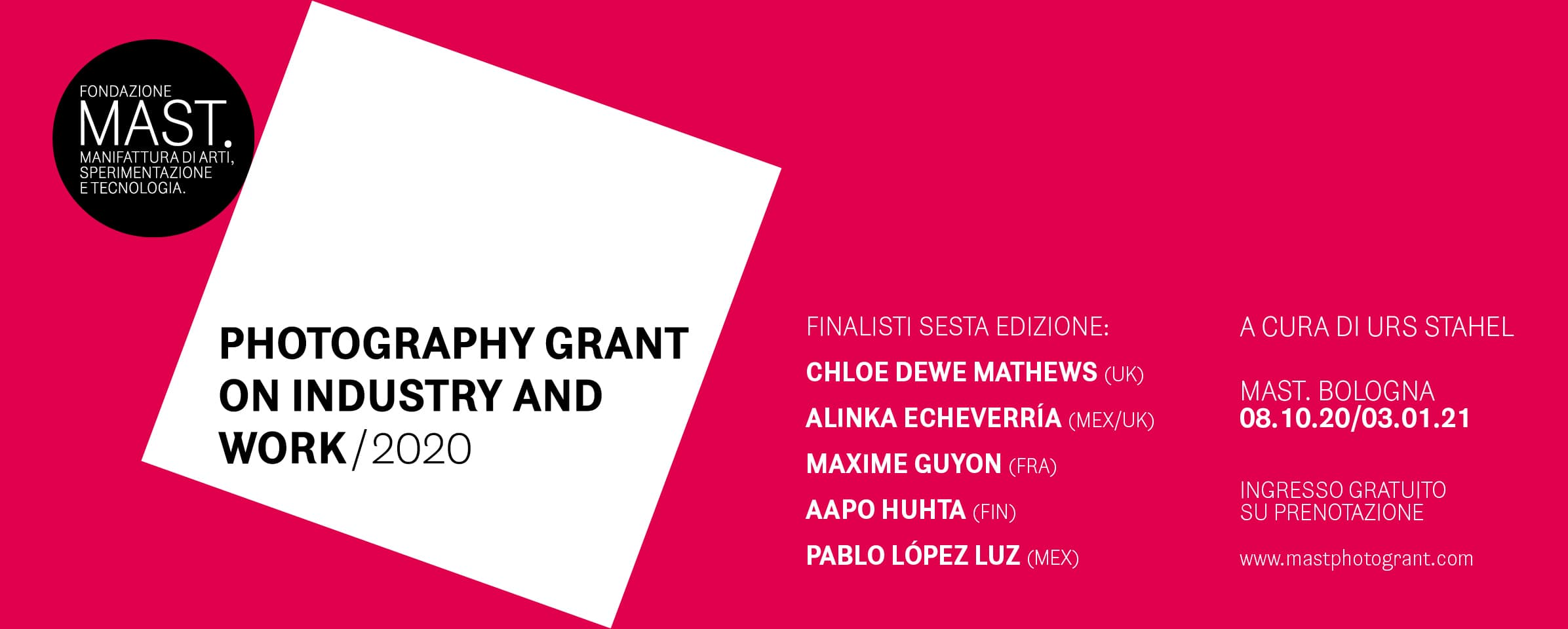 Photography Grant on Industry and Work mostra 2020