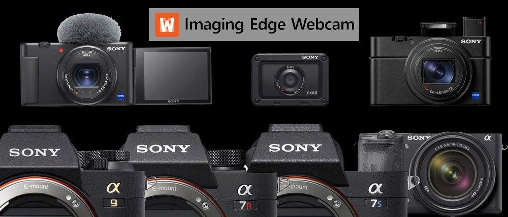 Sony Imaging Edge Webcam macOS