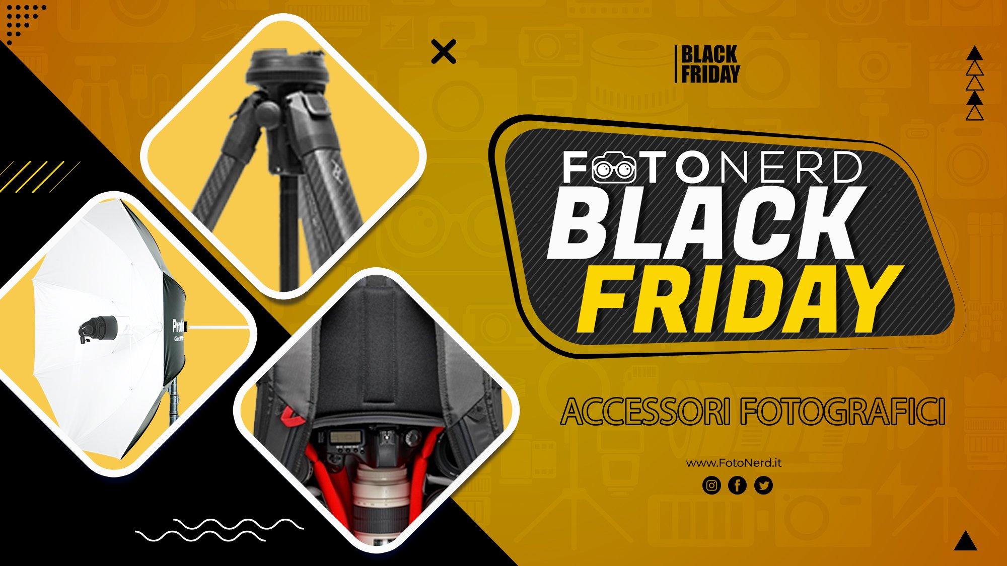 Black Friday Accessori Fotografici 2020