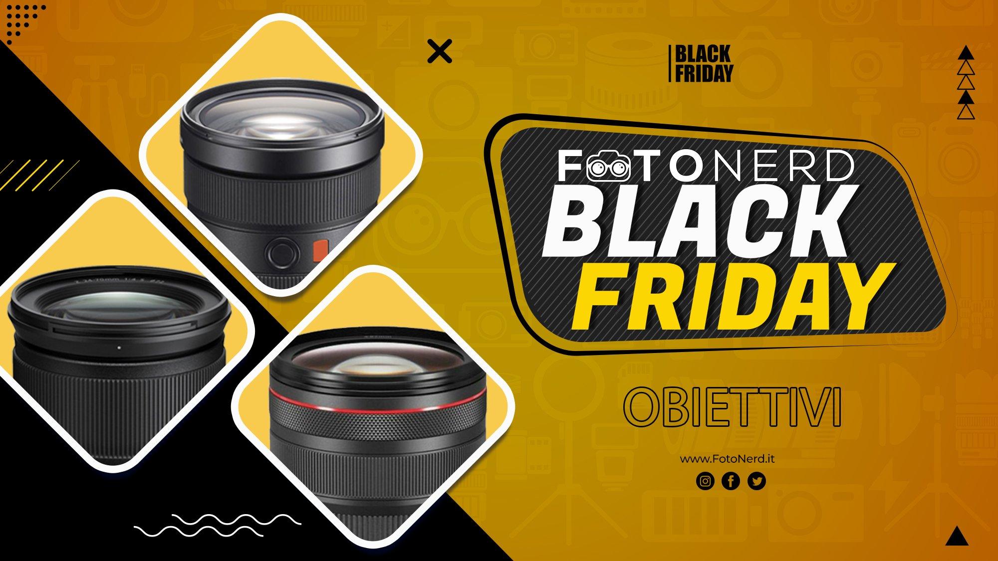 Black Friday 2020: ecco tutti gli sconti sugli obiettivi fotografici! | AGGIORNATO
