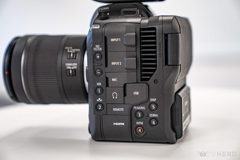 Canon EOS C70 manuale