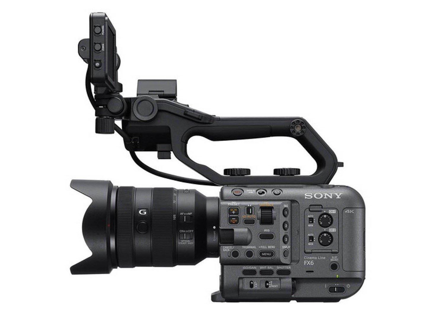 Sony FX6 annuncio