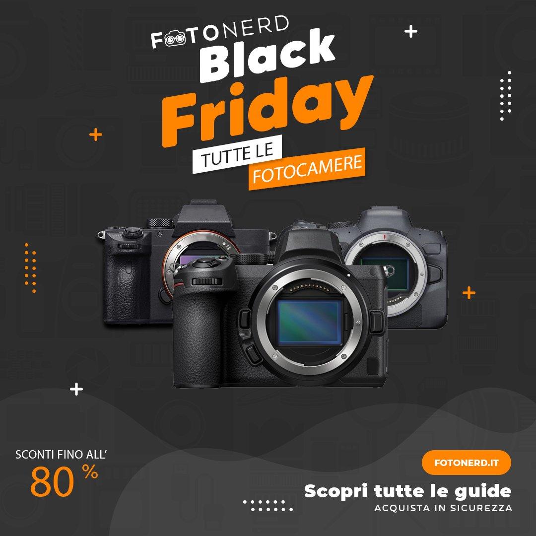 Black Friday Fotocamere
