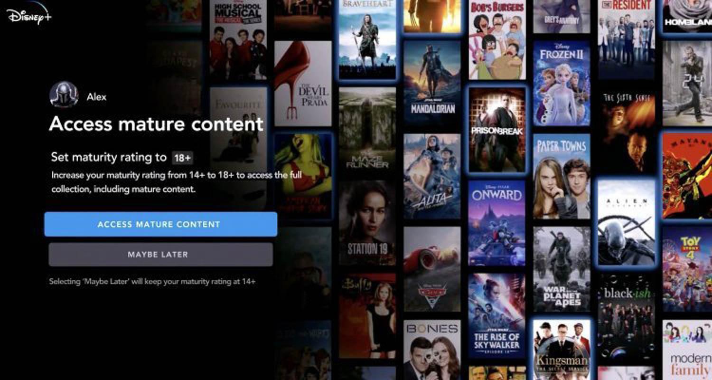 Disney+ Star: arriva la sezione apposita per i contenuti più adulti - Flipboard