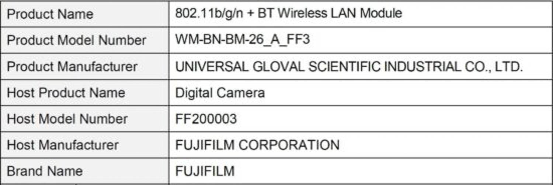 Fujifilm fotocamera gennaio 2021 rumors