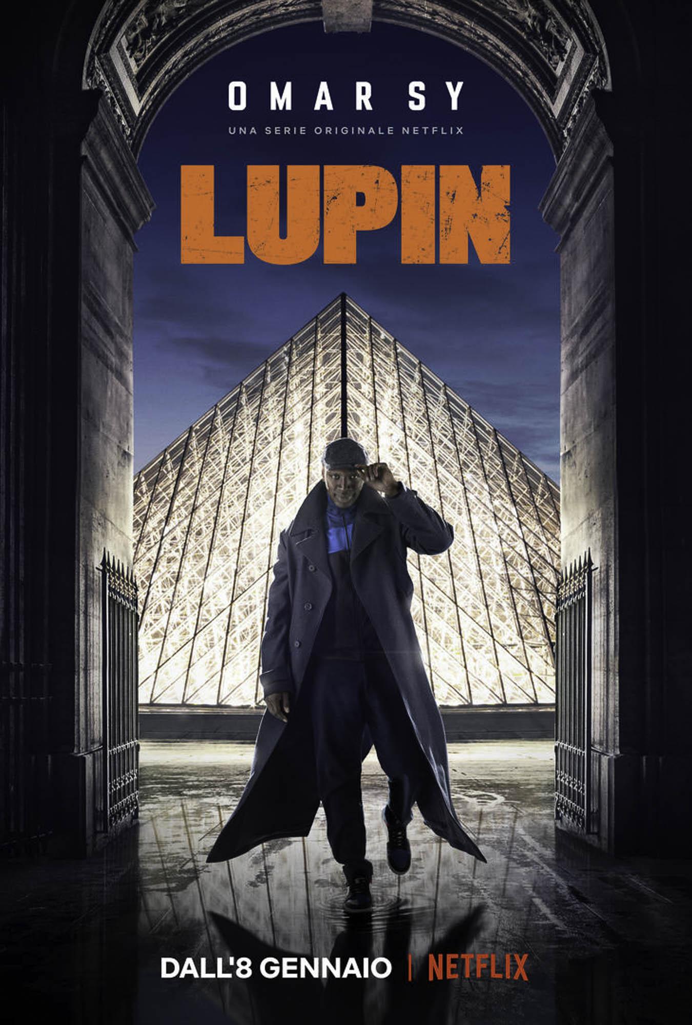 Lupin serie TV Netflix: ecco il trailer e la locandina con Omar Sy •  FotoNerd