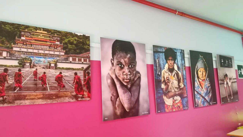 Arte a scuola Steve McCurry