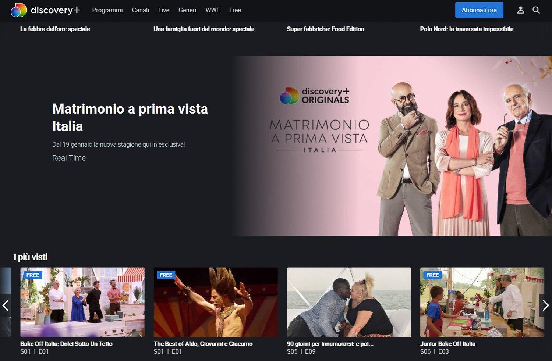 Discovery Plus Italia