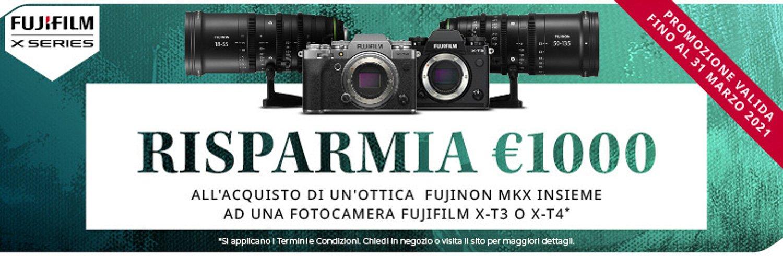 Fujifilm Instant Rebate per videomakers
