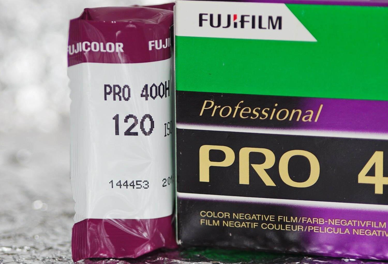 Fujifilm interruzione pellicola Pro 400H