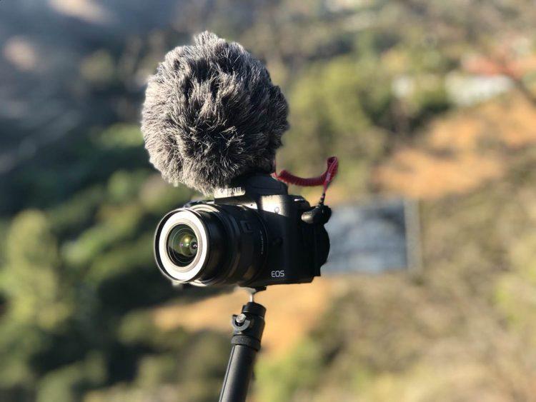 Canon brevetto EOS M vlog