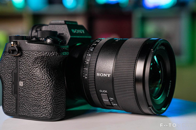 Sony FE 35mm f/1.4 GM rinvio uscita