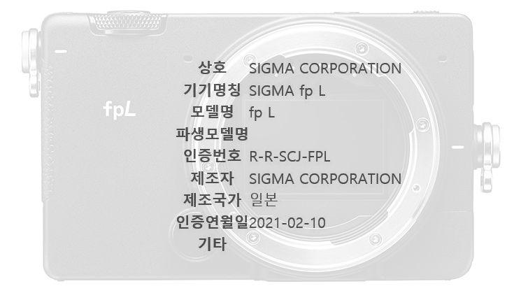 Sigma fp L rumors