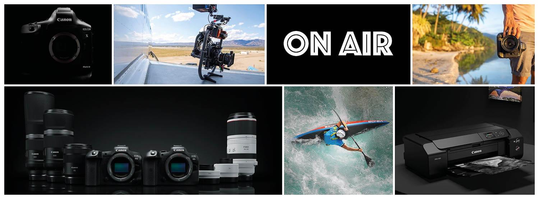 Canon Academy On Air riparte