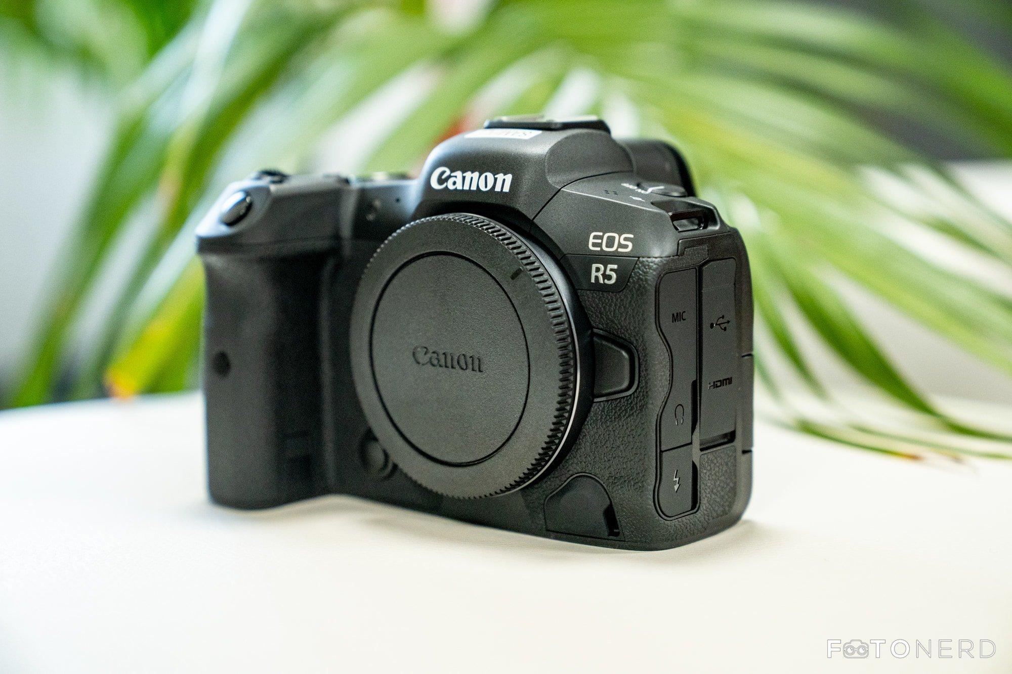Canon EOS R5 aggiornamento 1.3