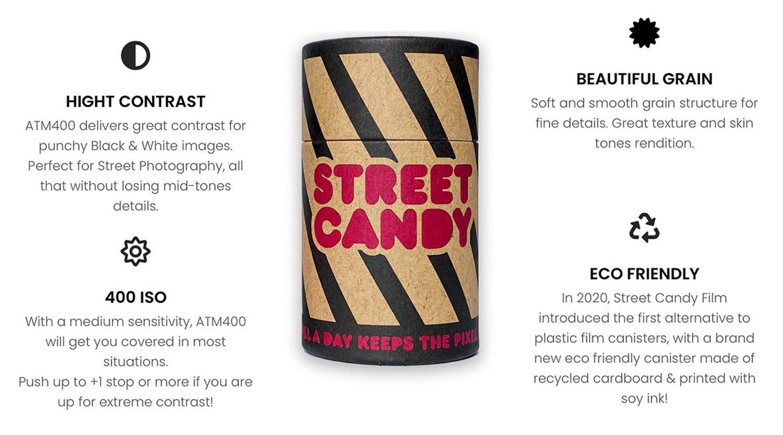 Street Candy Film MTN100