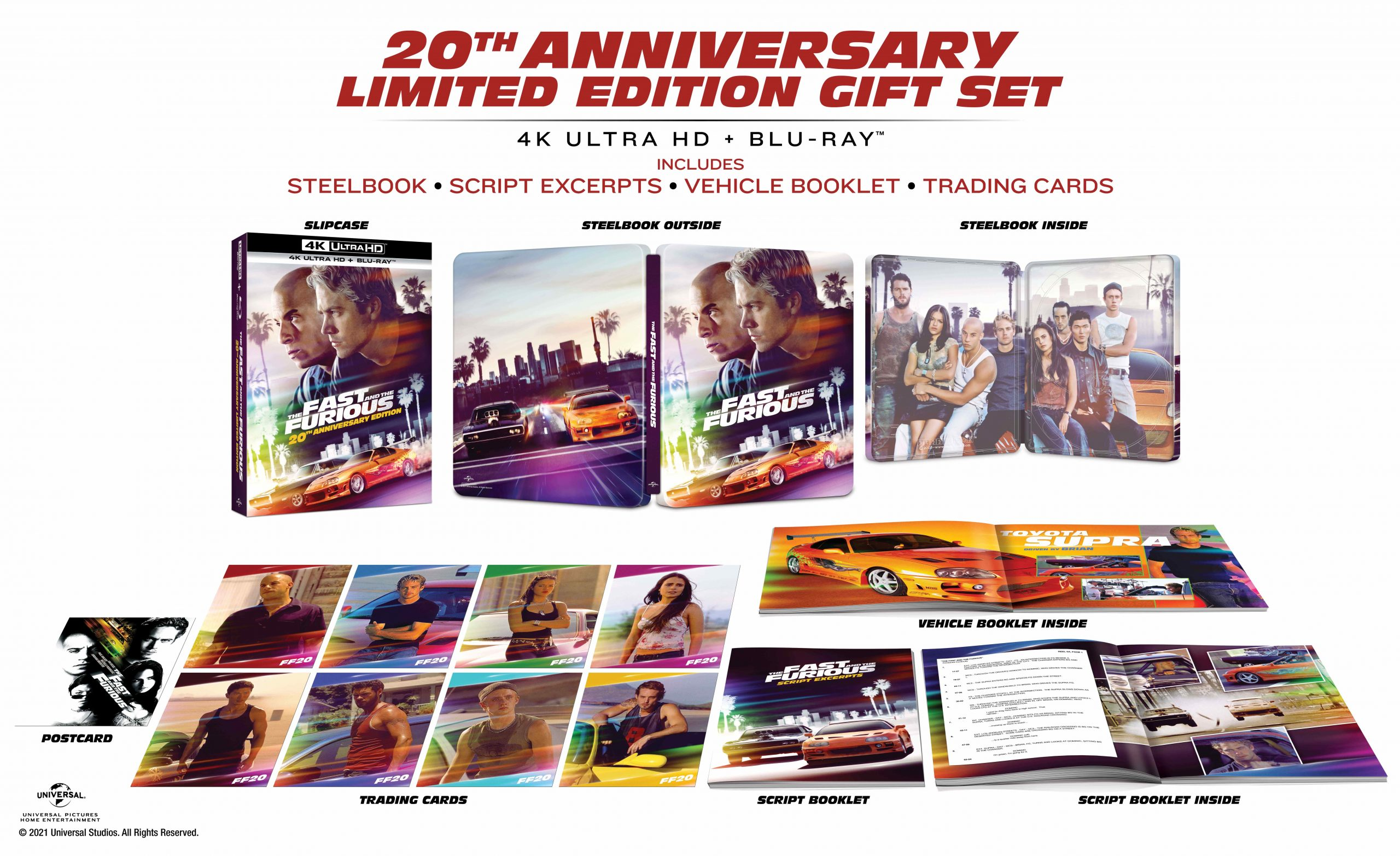 Fast and Furious ventesimo anniversario