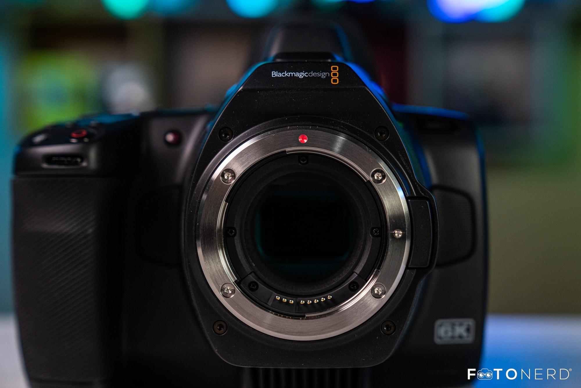 Blackmagic Pocket Cinema Camera 6K Pro