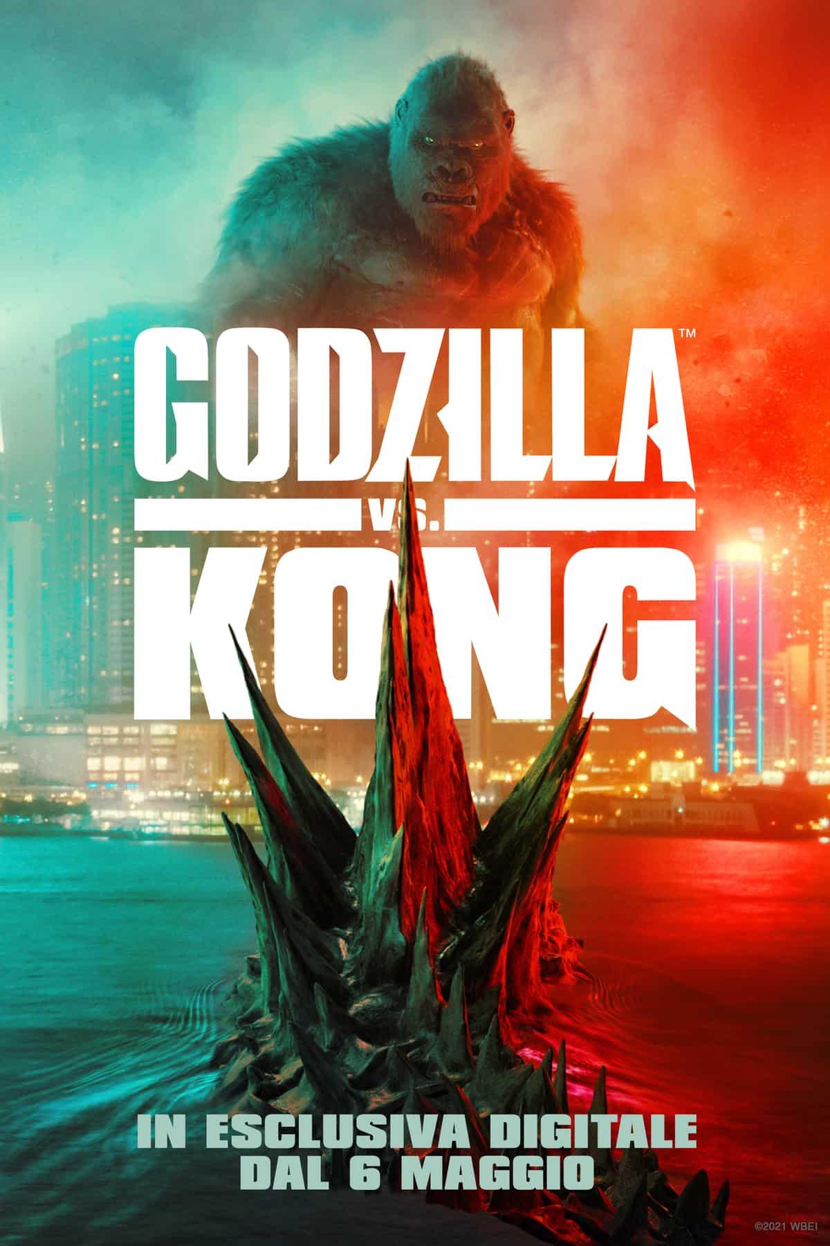 Godzilla vs Kong data di uscita