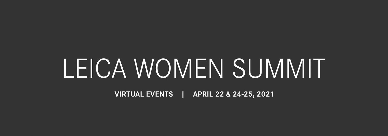 Leica Woman Summit annuncio