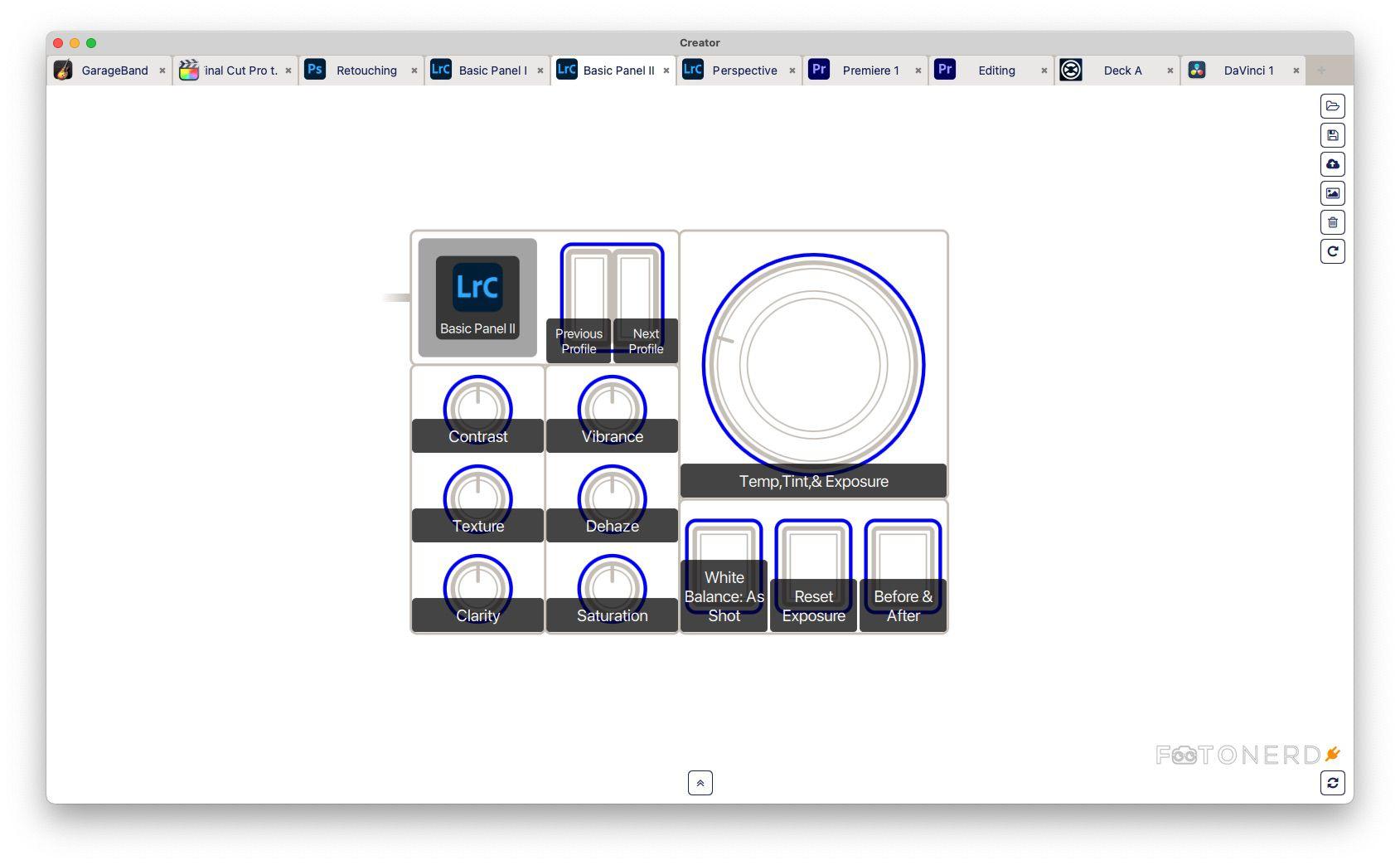 Monogram Creative Console