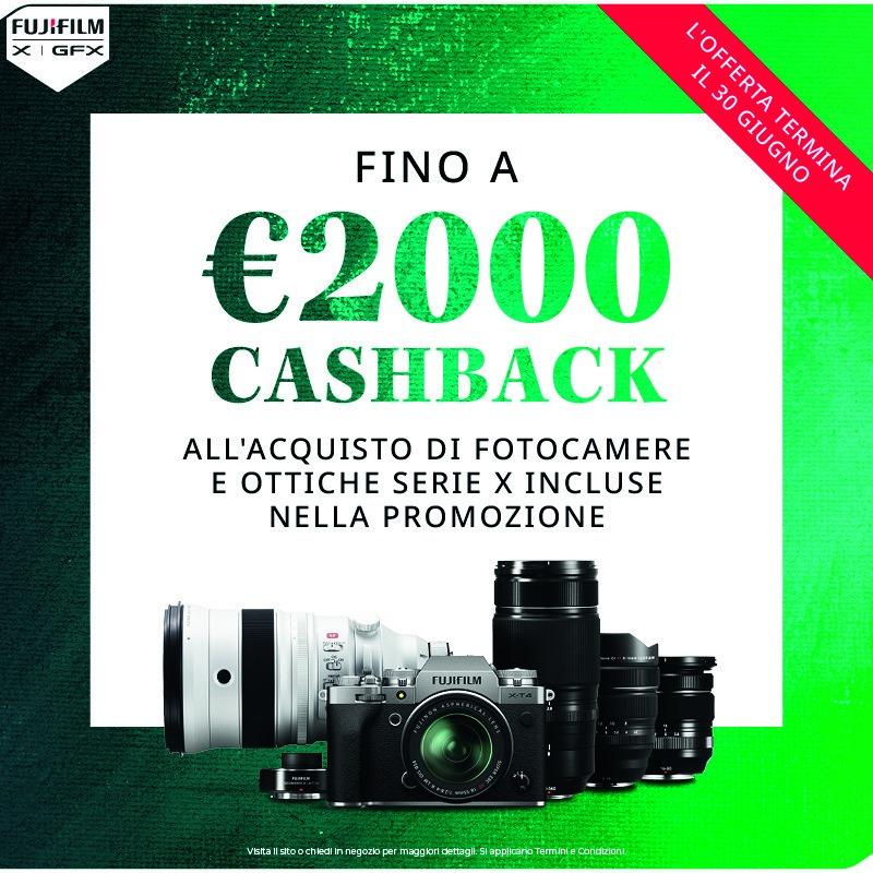 Cashback Fujifilm giugno 2021