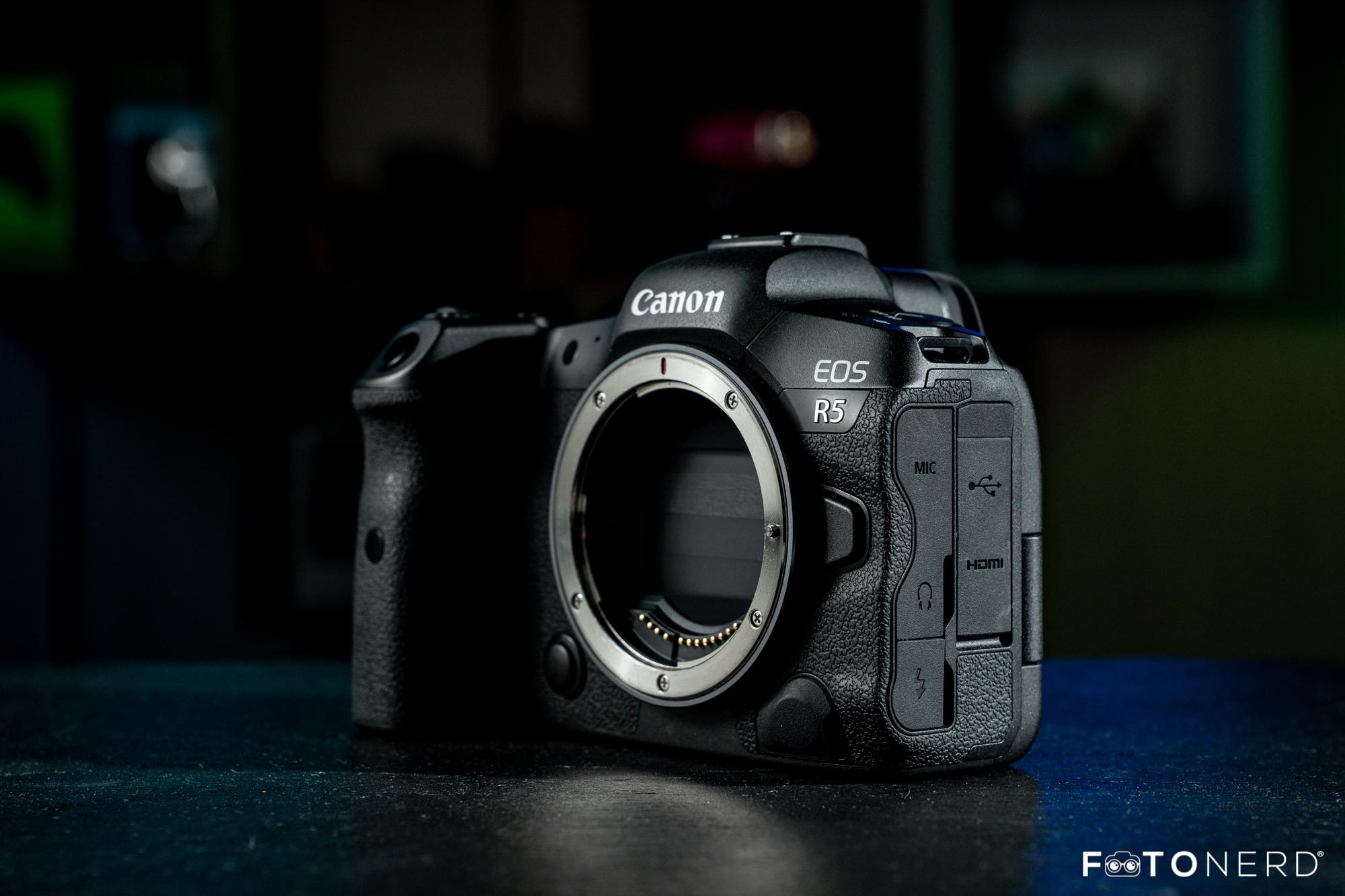 Canon EOS R5 Recensione